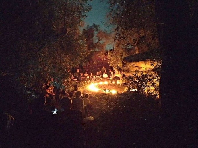 Un'escursione in notturna organizzata dal centro di cultura di Giuggianello