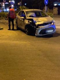 La Fiesta coinvolta nell'incidente