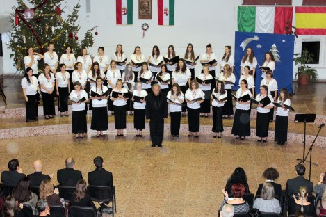 Coro Pècs Ungheria