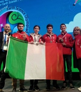 Giacomo Calogero alle Olimpiadi di scienze della Terra