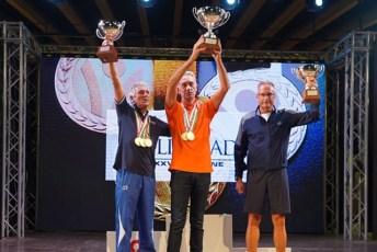 Il podio con Gaetano Gabellone al centro