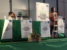 L'intervento di Maria Saponari (Cnr Bari)