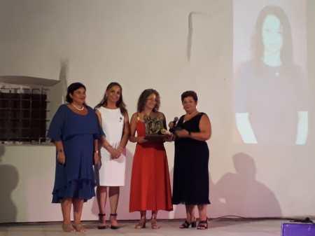 Il premio a Silvia Protopapa