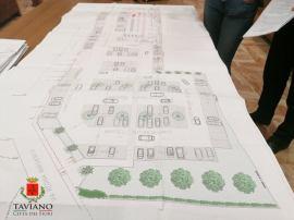 Il progetto del parcheggio