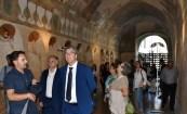 Il sindaco di Ostuni a Matino (foto Raffaele Leopizzi)