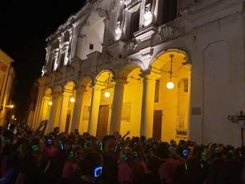Street workout in piazza Salandra