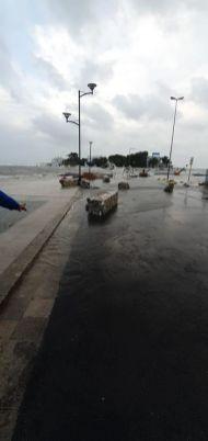 Porto Cesareo, i danni del maltempo