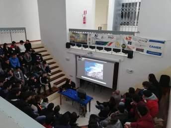 """I volontari dell'associazione """"Paolo Pinto"""" incontrano gli studenti del """"Vespucci"""" di Gallipoli"""