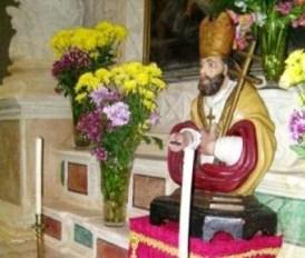 Casarano, la statua di San Giovanni piccinnu