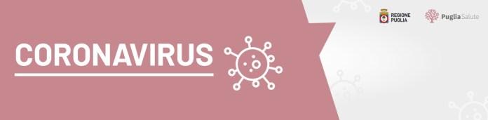 Regione Puglia Coronavirus