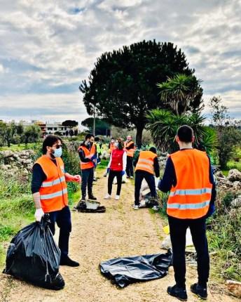 I volontari di Clean up