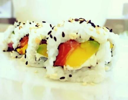 Pizzeria Giocò, il sushi