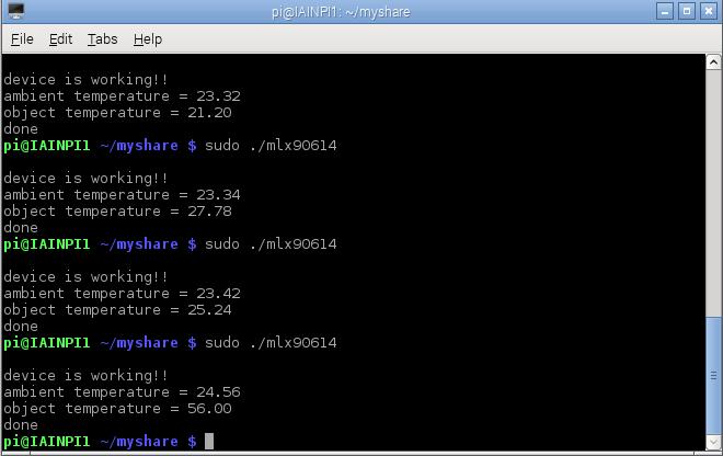mlx90614-output