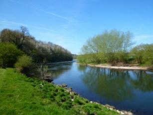 イギリスの川の写真素材03