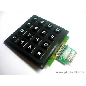 iCM07B  4x4 Keypad