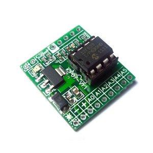 iCP07  iBoard Tiny (Microchip 8pin PIC12 Development Board)