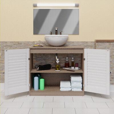 meuble rangement salle de bain sous