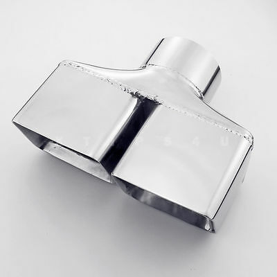 dual wall exhaust tips for dodge challenger