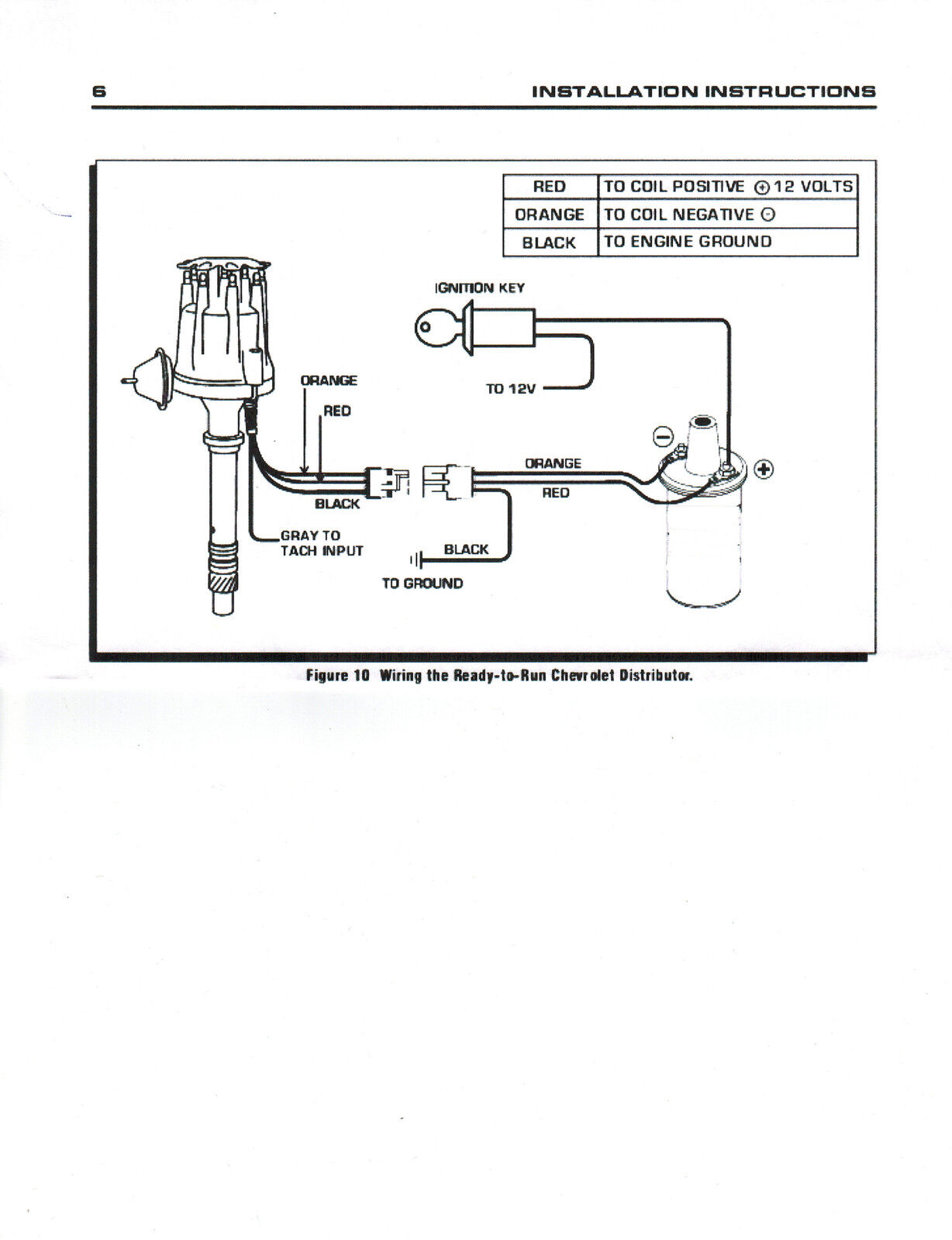 Pro Comp Distributor Wiring Diagram 35 Images Coil As Well Msd 6a 8000 Diagrams Small Cap Ford Inline 6 Cylinder 170 200 250 57resize