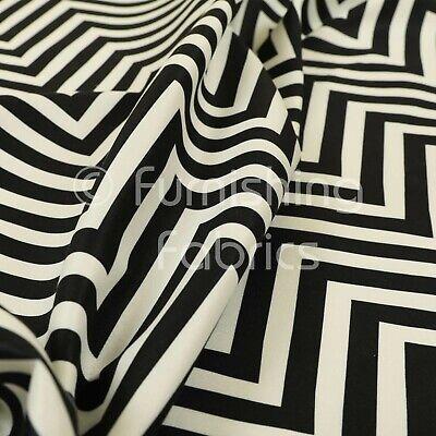 black white chevron stripe pattern