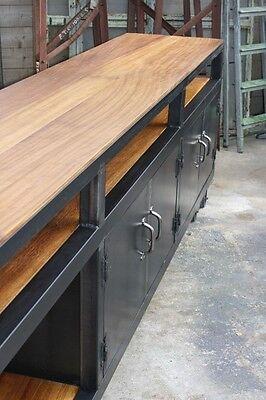 enfilade meuble industriel bois metal loft tendance vintage