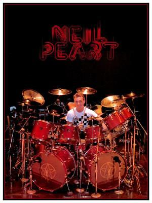 neil peart poster moving pictures