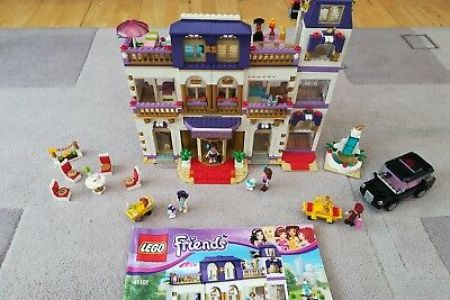Lego Friends Hotel Instructions Full Hd Maps Locations Another