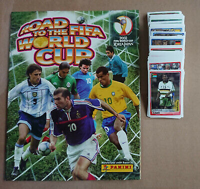 PANINI - ROAD TO FIFA WORLD CUP KOREA/JAPAN 2002 - Complete Collection + ALBUM