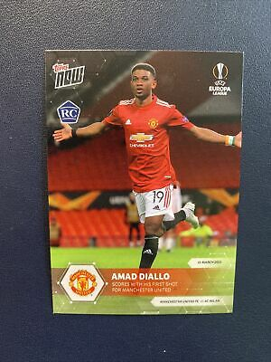 Topps Now ECL 2020-21 - Amad Diallo - Manchester UTD Rookie