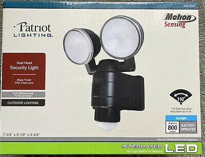patriot lighting outdoor led security