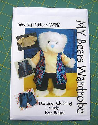 Attractive Sewing Patterns For Teddy Bear Clothes Image - Knitting ...