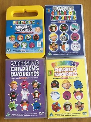 ULTIMATE CHILDREN'S FAVOURITES 4 Discs (DVD) - £9.90 ...
