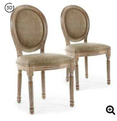 vends 4 chaises medaillons louis 16