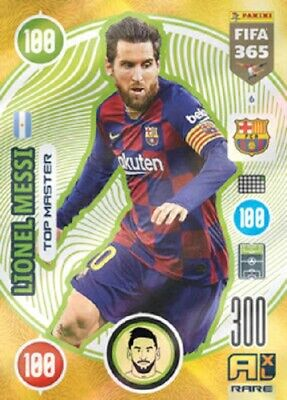 Panini Adrenalyn XL Fifa 365 2021 Rare Lionel Messi