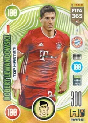 Panini Adrenalyn XL Fifa 365 2021 Rare Robert Lewandowski