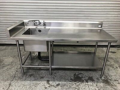 sink prep station 9023 commercial nsf