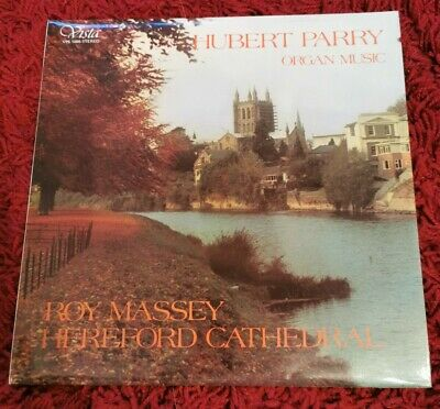 Q2. Roy Massey  Hereford Cathedral / Hubert Parry Organ Music Lp
