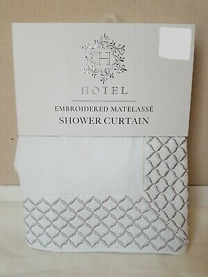 nwt hotel collection embroidered scroll