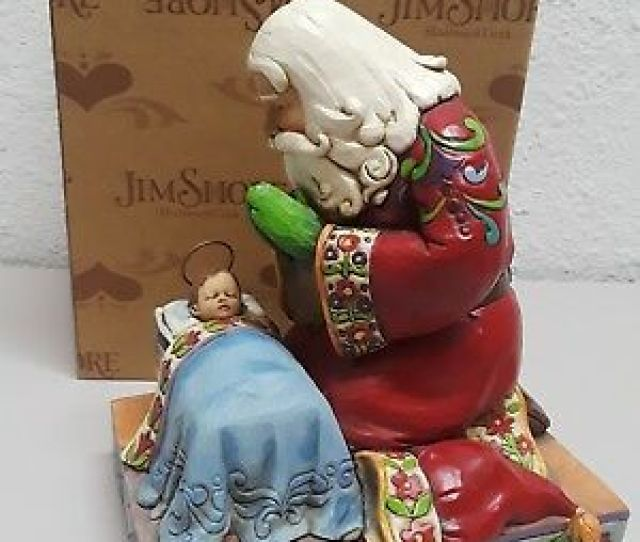 Jim Shore Heartwood Creek The Real Meaning Of Christmas Decor Statue