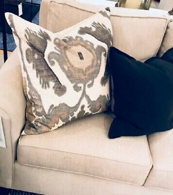 embroidered decorative pillow cover