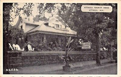 Attalla Alabama ~ Tourist HOME-U.S. 11 & 241-HOSTESS Mrs.Spurlock Carte Postale