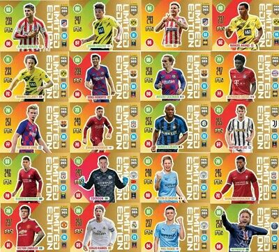 Panini Adrenalyn XL FIFA 365 2021 all Limited Edition to choose