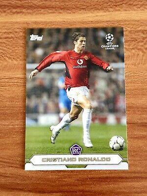 Topps The lost Rookie Cards - RC Cristiano Ronaldo Manchester United UCL