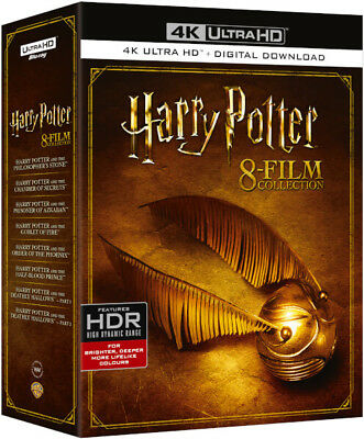 Harry Potter Collec (8pk/UHDBD/4K UHD)