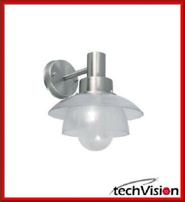 Ranex Lyon Wall Lamp Designer Outdoor Lighting Stainless Steel IP44 E27 A