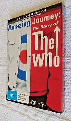 AMAZING Journey : The Story Of The Who (DVD, 2-Disc Set ...