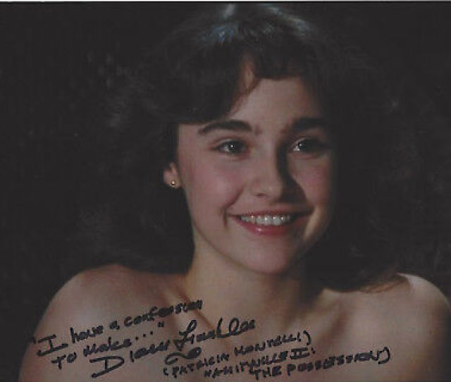 Actress Diane Franklin Signed Authentic Amityville Ii 8x10 Photo W Coa