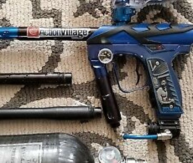 Smart Parts Smart Parts Ion Pro Paintball Marker With Halo Hopper And Airtank