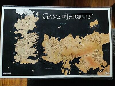 game of thrones map poster maps