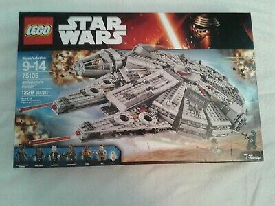 Lego Star Wars Millenium Falcon 75105 Retired Set Factory Sealed Box